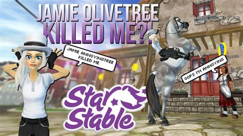 Jamie Olivetree KILLED MY CHARACTER?! || Star Stable