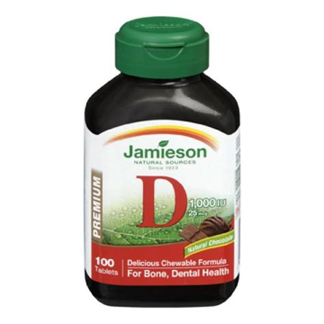 Buy Jamieson Chewable Vitamin D3 in Canada - Free Shipping