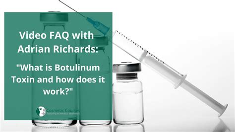 What is Botulinum Toxin and how does it work? - YouTube